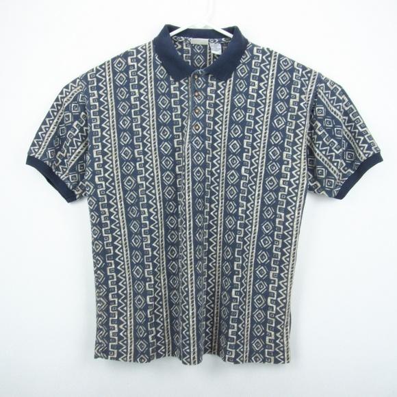 6ddcd0944 Bugle Boy Shirts   Vintage Polo Shirt Mens Large   Poshmark